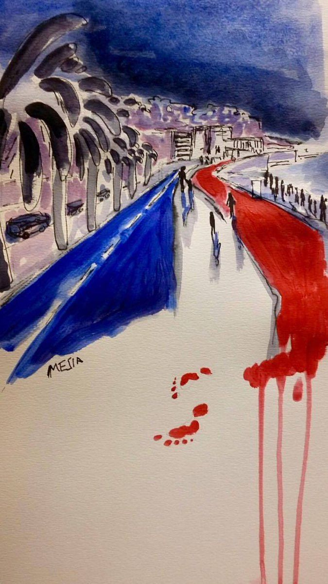 Hommage aux victime Nice