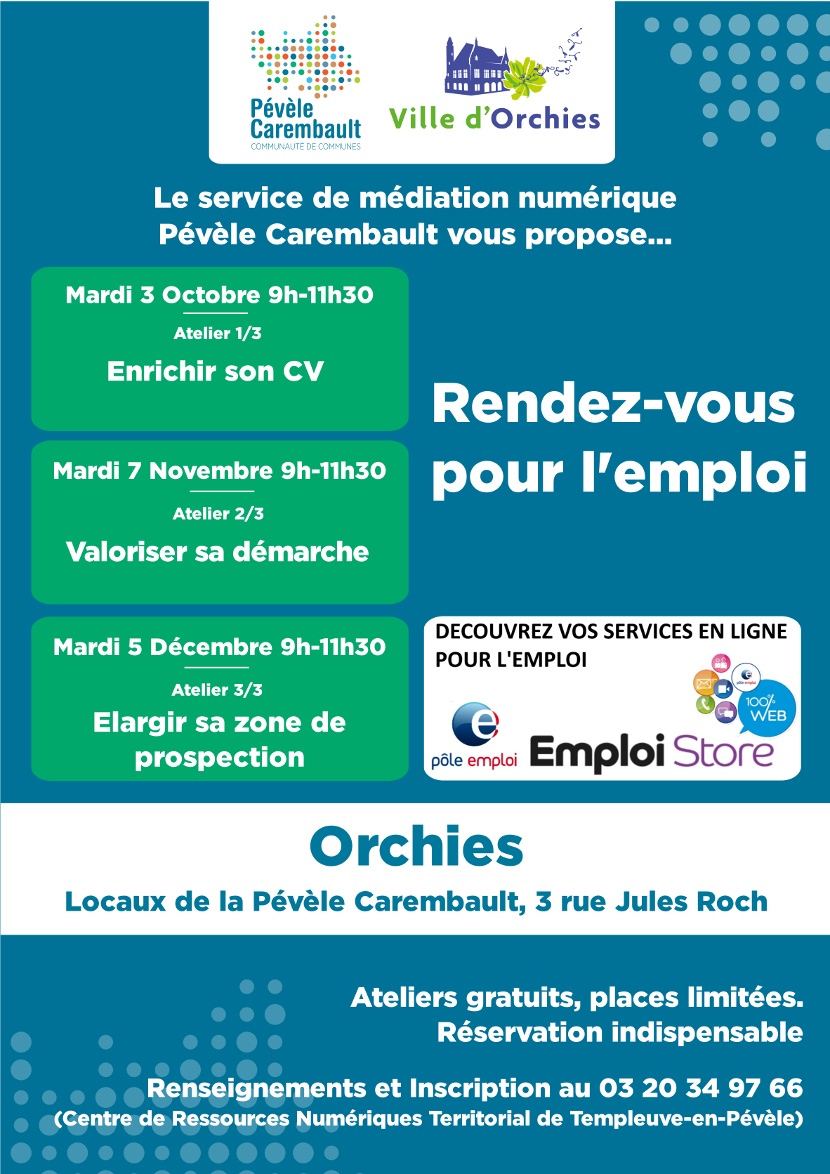 Emploi Orchies