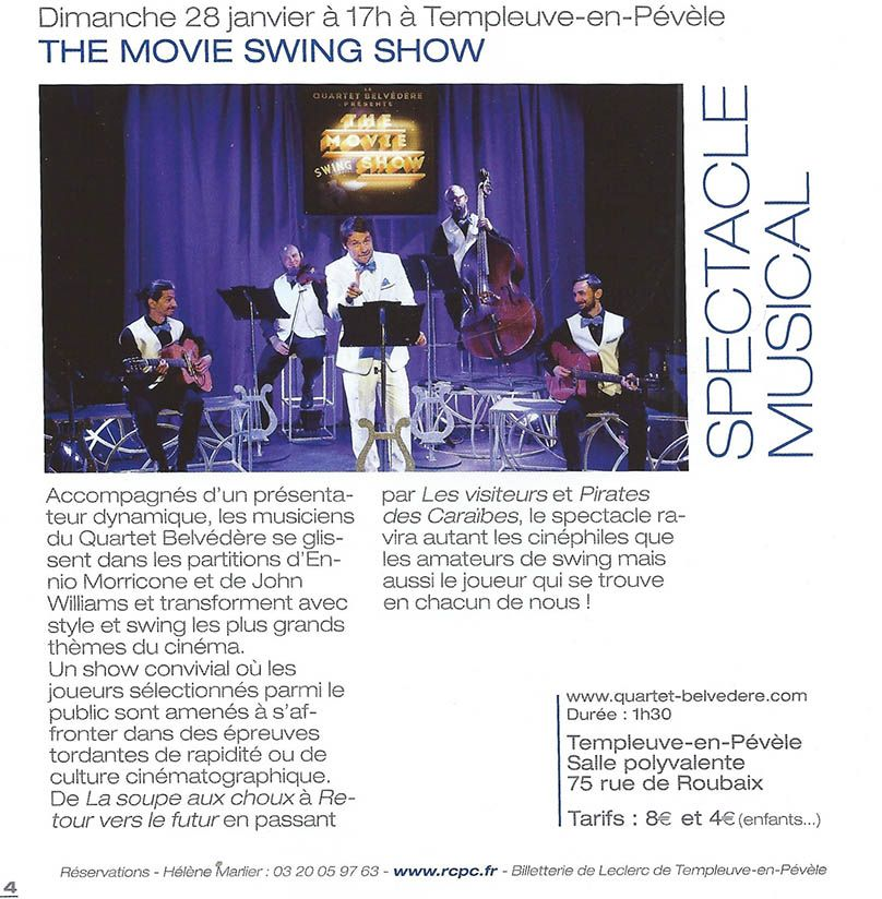 The Movie Swing Show